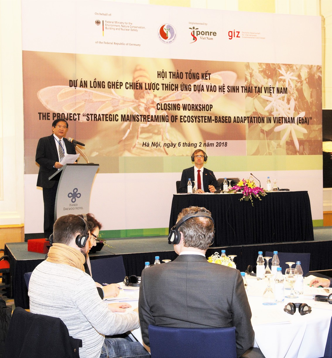 ECOSYSTEM-BASED ADAPTATION PROJECT SUPPORTS COMPREHENSIVE COOPERATION FOR VIETNAM'S CLIMATE CHANGE RESPONSE