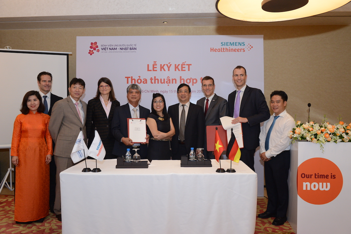 Siemens Healthcare Ltd. and Vietnam Japan Medical High-Tech Development JSC ink MoU to foster cooperation in healthcare