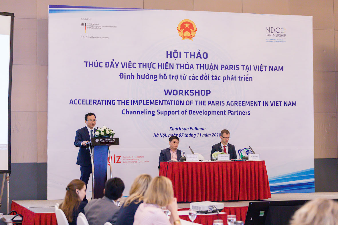 Accelerating the implementation of the Paris Agreement in Viet Nam through joint national and international efforts