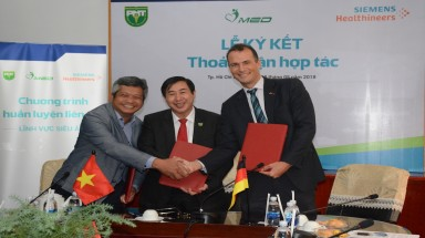 Siemens Healthineers, Pham Ngoc Thach Medical University and Imed Medical Equipment Inked an MoU to foster education collaboration