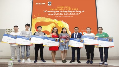 Winners of TRAFFIC's sustainable traditional medicine competition announced