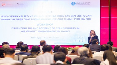 Hanoi mobilizes resources to improve the city's air quality